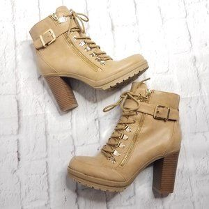 G by Guess Lace Up Grazzy 2 Boots